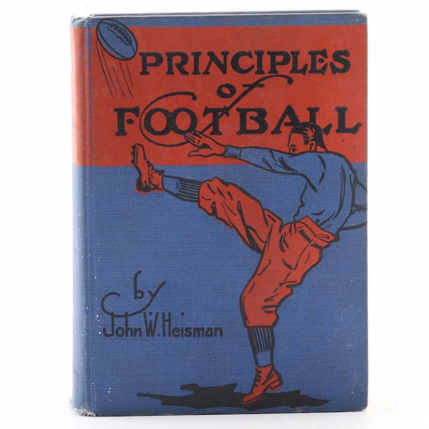 "Second Edition ""Principles of Football"" by John W. Heisman, 1922"