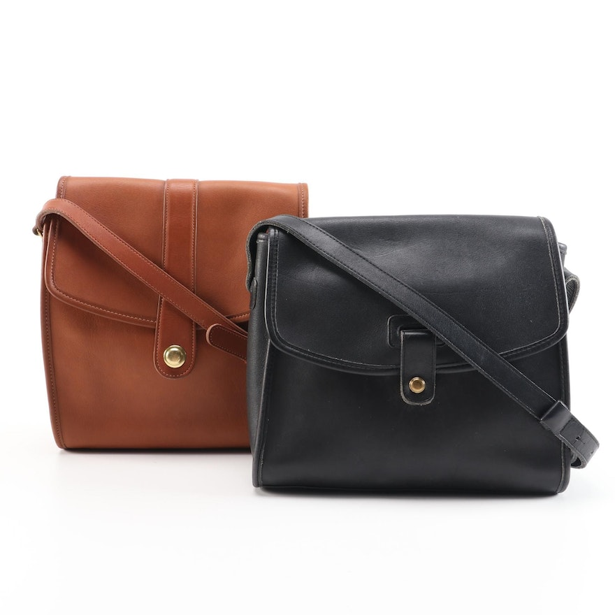Coach Legacy Leather Shoulder Bags