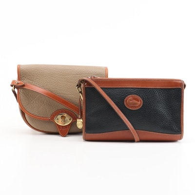 Dooney and Bourke All-Weather Pebbled Leather Shoulder Bags