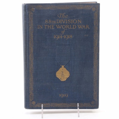 "First Edition ""The 88th Division in the World War of 1914-1918"", 1919"