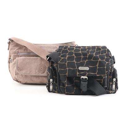 Kipling San Rafael and Baggallini Satchel Bags