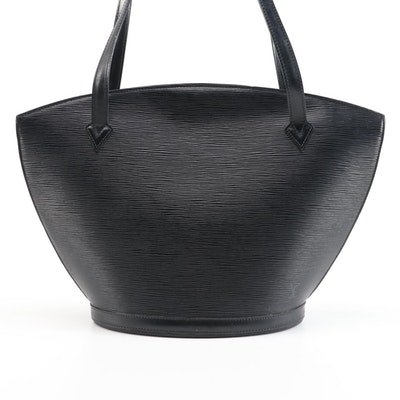 Louis Vuitton Saint-Jacques GM in Black Epi Leather