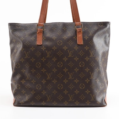 Louis Vuitton Cabas Messo Shoulder Tote in Monogram Canvas