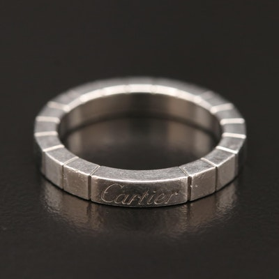 "Cartier ""Lanieres"" Platinum Band"