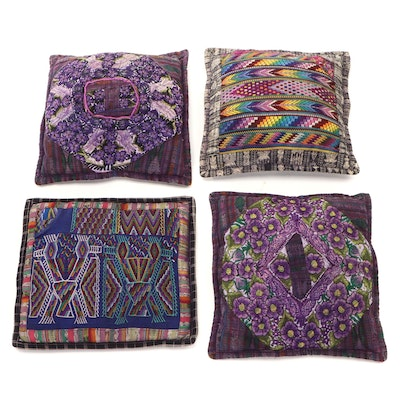 Guatemalan Hand Woven Decorative Pillow Coverings