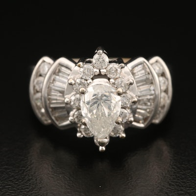 14K 2.13 CTW Diamond Ring