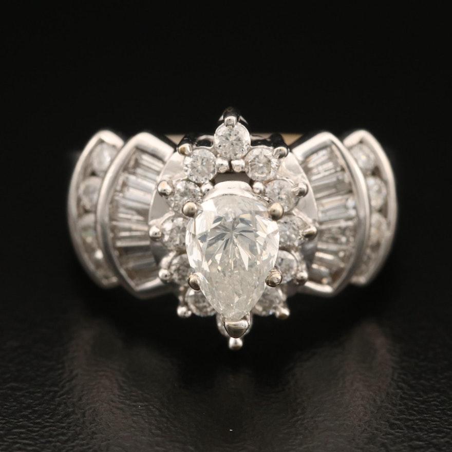 14K 2.13 CTW Diamond Ring