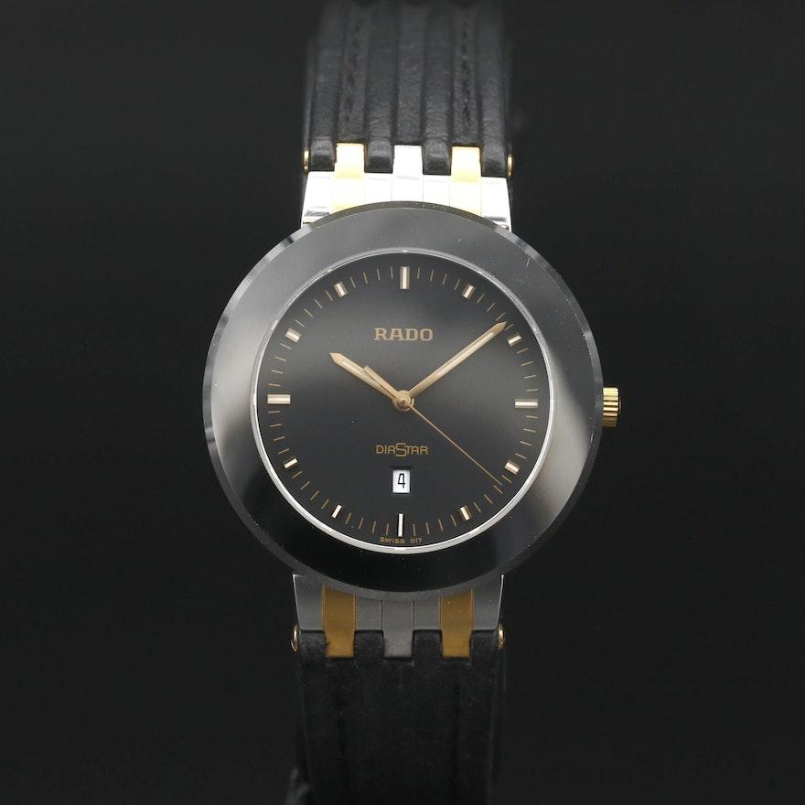 Rado Diastar Stainless Steel and Ceramic Quartz Wristwatch