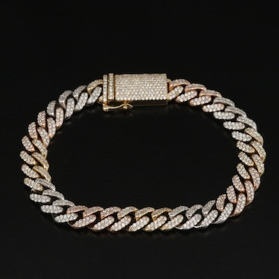 ICEBOX 14K Gold 3.23 CTW Diamond Bracelet