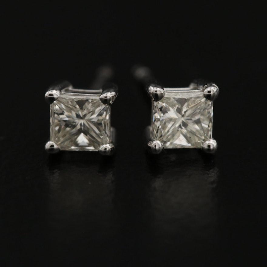 14K 0.48 CTW Diamond Stud Earrings