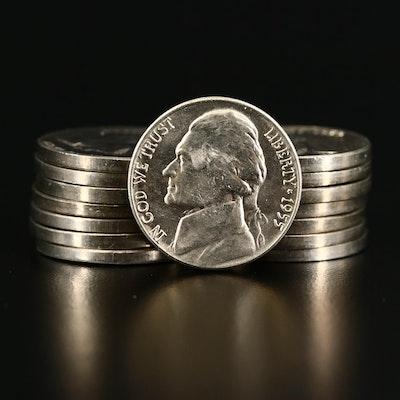 Fifteen Stronger Strike Jefferson Nickels