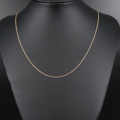 14K Chain Necklace