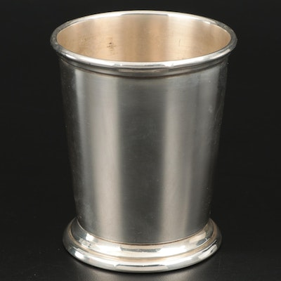Poole Sterling Silver Mint Julep Cup, Mid-20th Century