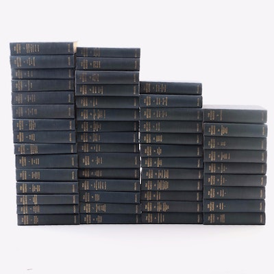 """The Harvard Classics"" Edited by Charles W. Eliot, Fifty-one Volume Set"