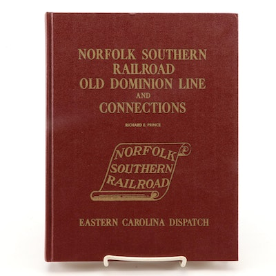 """""""Norfolk Southern Railroad Old Dominion Line and Connections"""" by Richard Prince"""
