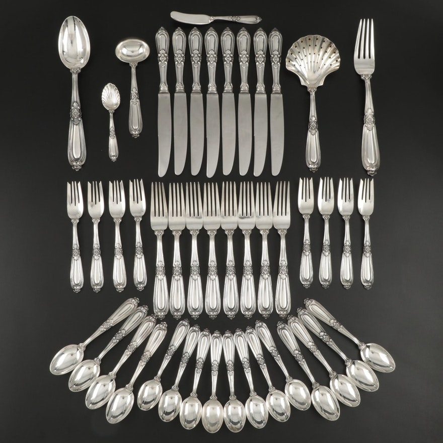"Buccellati ""Esteval"" Sterling Silver Flatware and Serving Utensils"