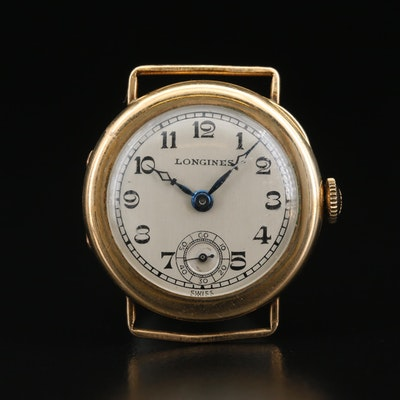 1928 Longines 14K Gold Filled Wristwatch