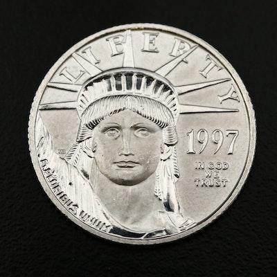 1997 $25 1/4 Oz. Platinum Eagle Bullion Coin