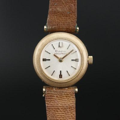 "14K Bulova ""Accutron"" Tuning Fork Wristwatch, 1973"
