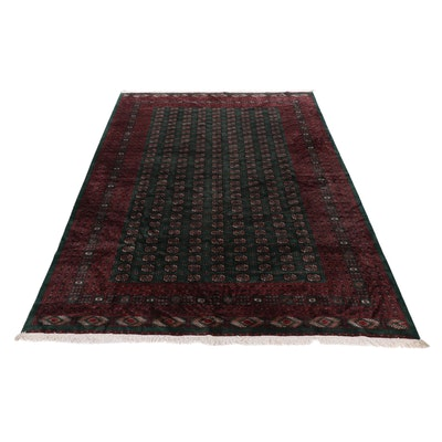 10'4 x 14'2 Hand-Knotted Pakistani Wool Room-Sized Rug