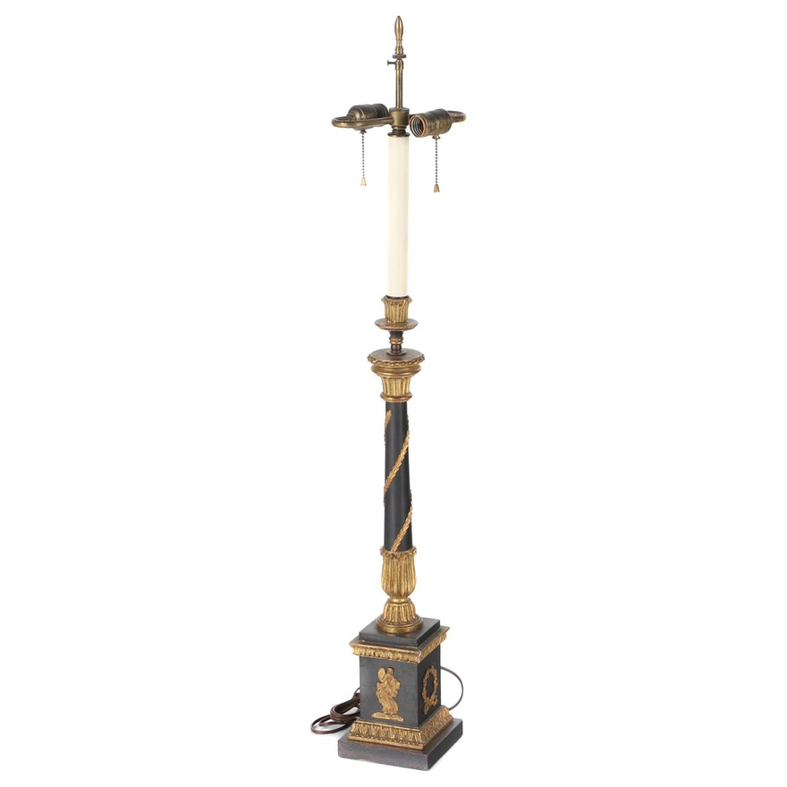 French Directoire Style Lamp, Late 20th Century
