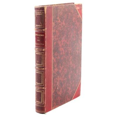 """""""Mes prisons: Suivies du discours sur les devoirs des hommes"""" by Pellico, 1843"""