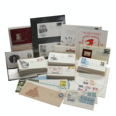 Over Three Hundred First Day Covers, Postal Covers and Post Cards, 1960s-1980s