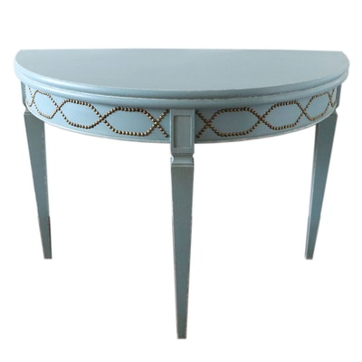 "Ballard Design ""Vieste"" Demilune Gate Leg Table"