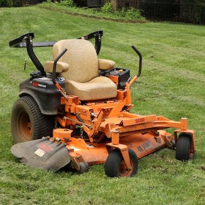"Scag Tiger Cat 48"" Velocity Plus Riding Lawn Mower"