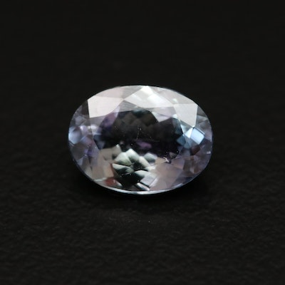 Loose 1.71 CT Oval Faceted Tanzanite