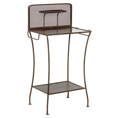 Industrial Style Metal Wash Stand