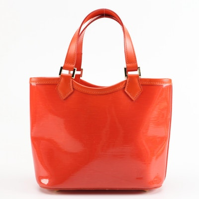 Louis Vuitton Mini Lagoon Bay Tote in Mandarin Orange Epi Plage