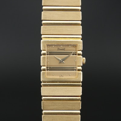 Piaget Polo 18K Quartz Wristwatch