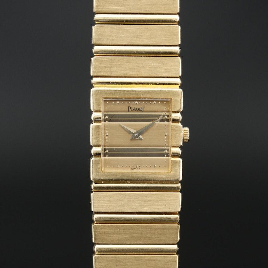 Piaget Polo 18K Quartz Wristwatch
