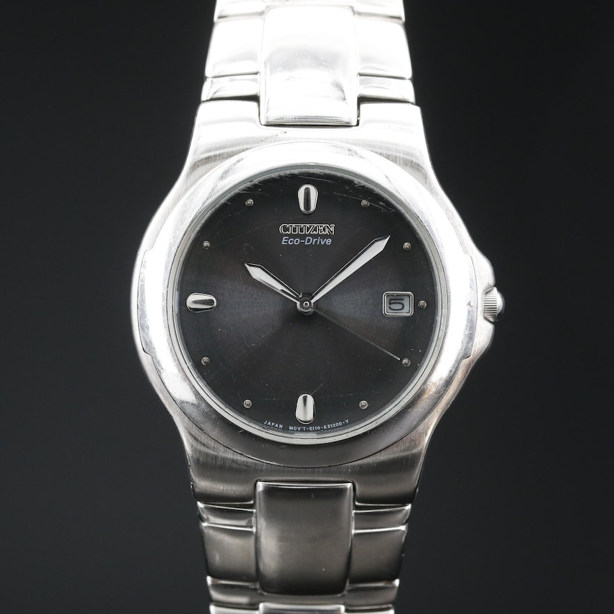 Citizen Eco - Drive Stainless Steel Wristwatch
