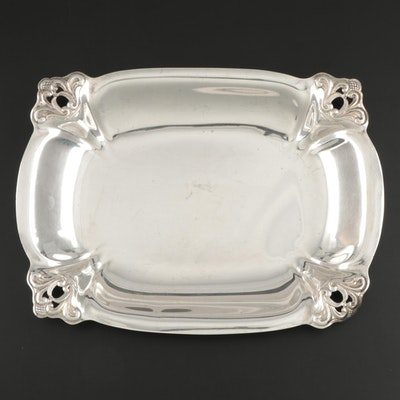 "International Silver ""Royal Danish"" Sterling Rectangular Vegetable Bowl"