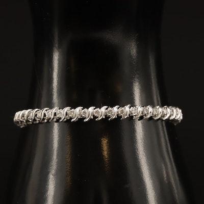 14K 2.02 CTW Diamond Line Bracelet