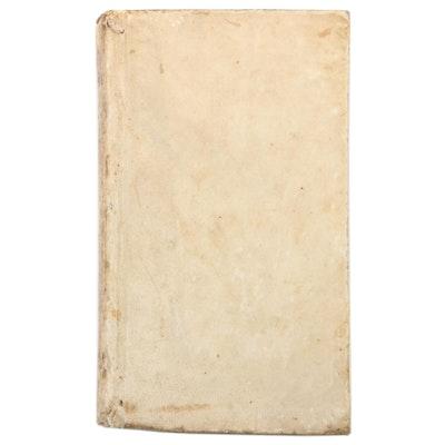 """""""Officium pentaglotton B. Mariae Virginis"""" Translated by Januarius Xystus, 1741"""