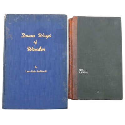 "Signed First Edition ""Down Ways of Wonder"" with ""The Mother and the Father"""