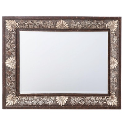Painted Molded Composite Wall Mirror, Contemporary