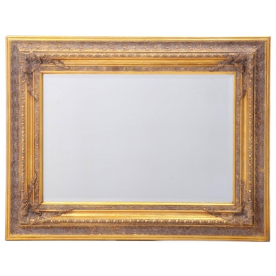 Giltwood and Composition Wall Mirror, Contemporary