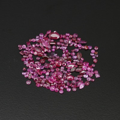 Loose 16.42 CTW Ruby Selection