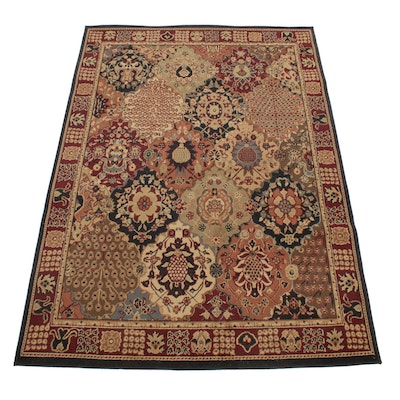 5'5 x 7'8 Turkish Power Loomed Persian Tabriz Style Rug, 2000s