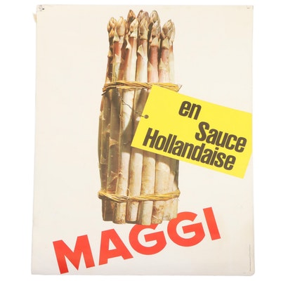 Swiss Advertising Poster for Maggi Seasonings, 20th Century