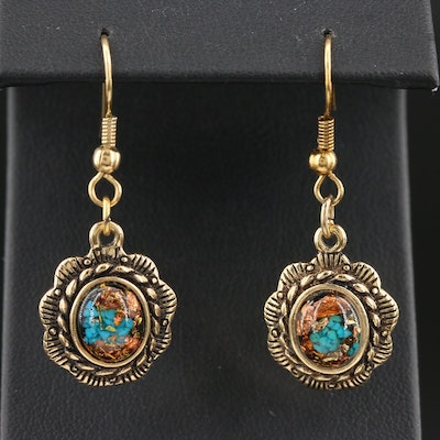 Western Style Drop Earrings