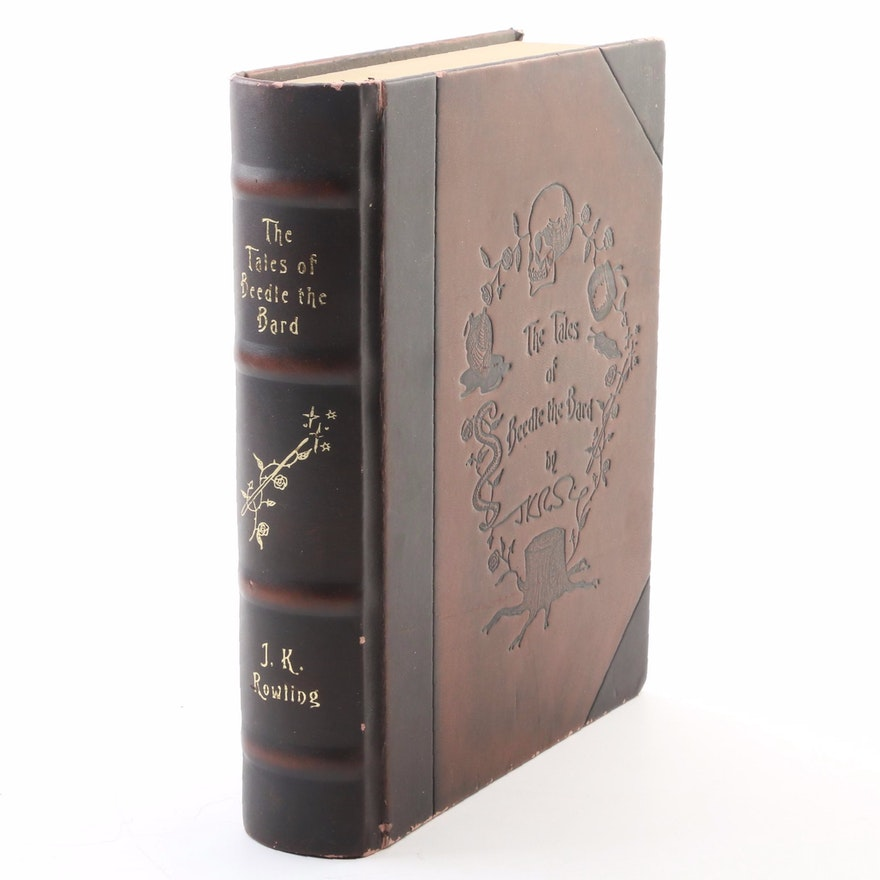 """First Collector's Edition """"The Tales of Beedle the Bard"""" by J. K. Rowling, 2008"""