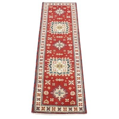 2'8 x 8'6 Hand-Knotted Indo Persian Tabriz Runner, 2010s