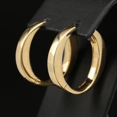 Roberto Coin 18K Hinged Hoop Earrings