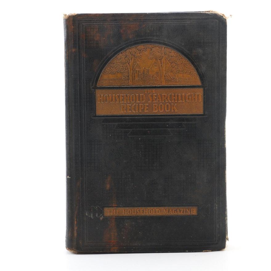"""""""The Household Searchlight Recipe Book"""" Edited by Ida Migliario et al., 1940"""