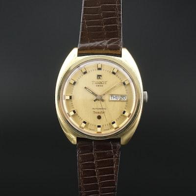 """Swiss Tissot """"Seastar"""" Automatic Wristwatch with Day/Date"""